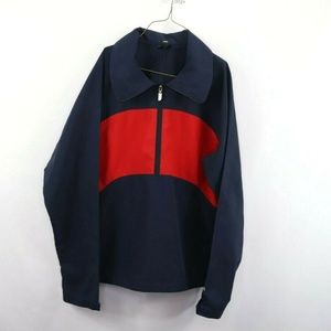 Vintage 80s The North Face Spell Out Jacket Blue